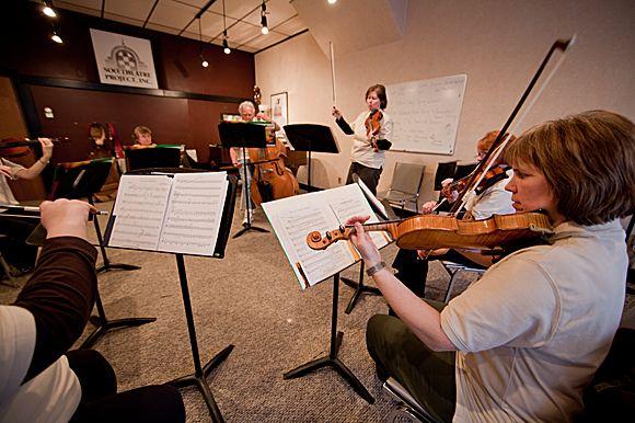 Soo Theater Violin Class