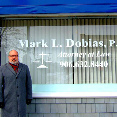 Welcome Mark L. Dobias Attorney at Law