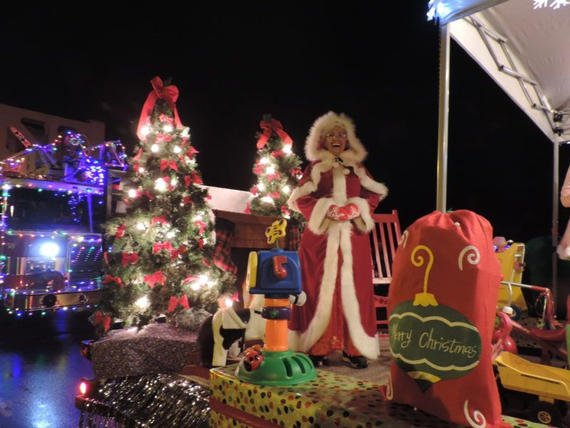 The Parker Ace Hardware Parade Of Lights Christmas Tree Lighting